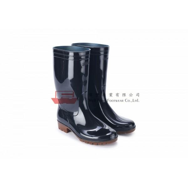 OSM6000日本製勞工水靴(黑色)