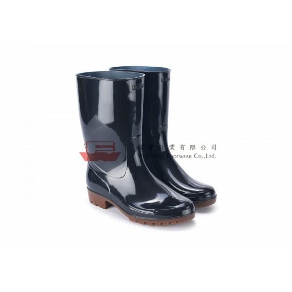OSM6400日本製勞工水靴(黑色)