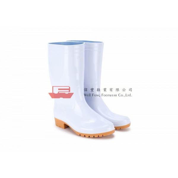 OSM6000日本製勞工水靴(白色)