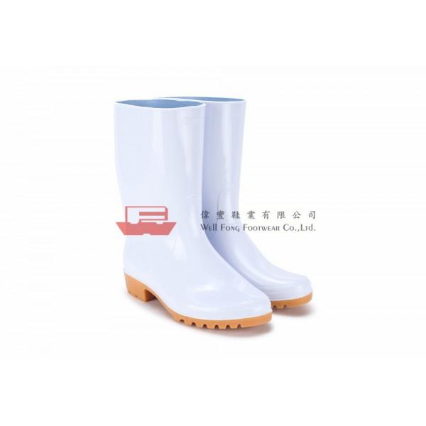 OSM6400日本製勞工水靴(白色)