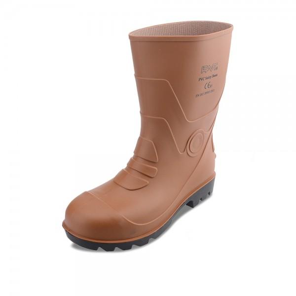 安全短靴 (啡色)