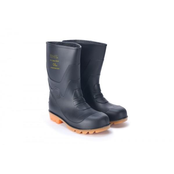 安全短靴 (黑色)