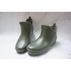 Health Maruyo日本製 女裝(墨綠)超闊雨靴