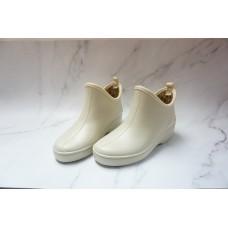 Health Maruyo日本制 女裝(米色)超闊雨靴