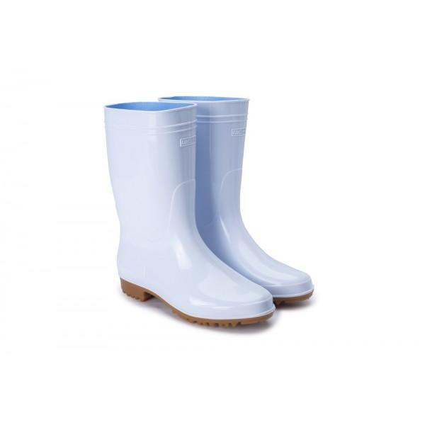 G3-日本製弘進-勞工水靴-(白色)