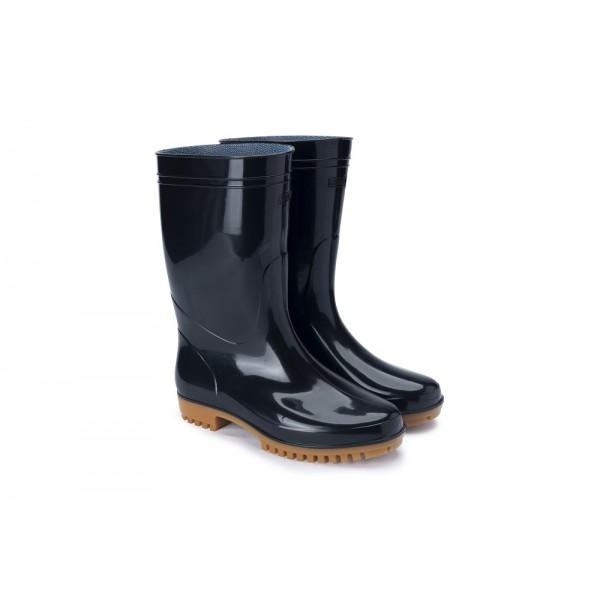 G5-日本製弘進-專利勞工水靴-(黑色)