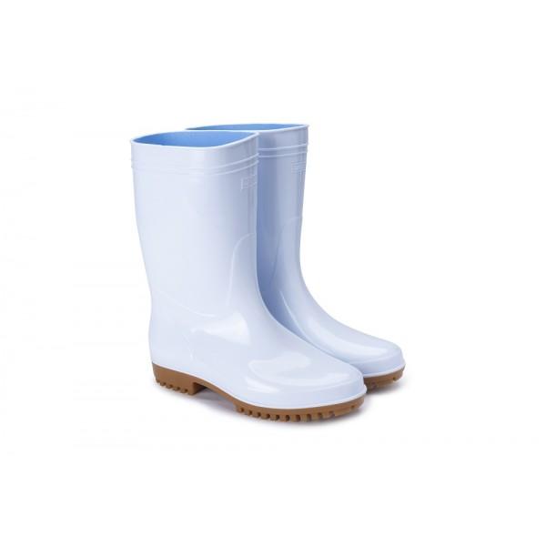 G5-日本製弘進-專利勞工水靴-(白色)